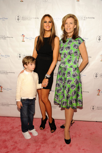 Barron Trump In The Society Of Mskcc Hosts The 19th Annual