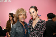 Ken Paves and Louise Roe attend Soda Says Celebrates US Launch on November 07, 2018 in Los Angeles, California.