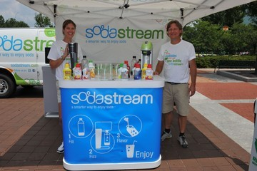 Charlie Smith SodaStream at Centennial Olympic Park