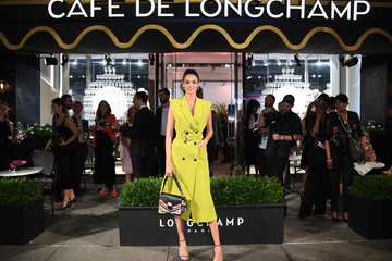 Sofia Resing Longchamp And Kendall Jenner Celebrate The Opening Of Longchamp Fifth Avenue Flagship