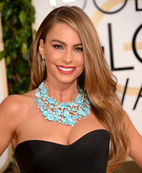 Sofia Vergara - 71st Annual Golden Globe Awards - Arrivals