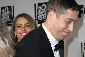 Sofia Vergara Nick Loeb Arrivals at Fox and FX's Golden Globes Afterparty