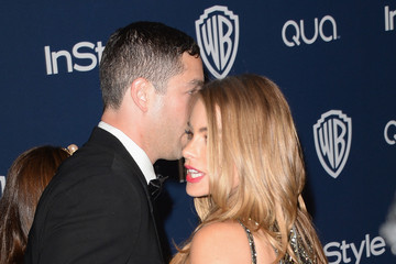 Sofia Vergara Nick Loeb Arrivals at the InStyle/Warner Bros. Golden Globes Party — Part 2
