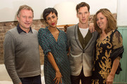 (L-R) Nick Jones, Zawe Ashton, Benedict Cumberbatch and Greta Scacchi attend the Soho House and Grey Goose party to celebrate the CineCity film festival on November 13, 2013 in Brighton, England.  Guests enjoyed a three course sharing menu prepared by Soho House and Grey Goose cocktails.