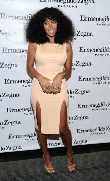 "Solange Knowles - Ermenegildo Zegna ""Essenze""  Collection Launch Event"