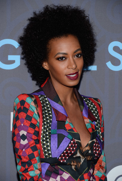 "Solange Knowles - HBO Hosts The Premiere Of ""Girls"" Season 2 - Arrivals"