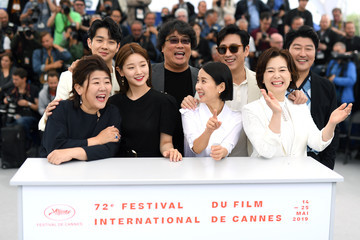 Song-Kang-Ho Lee Jung-eun 'Parasite'Photocall - The 72nd Annual Cannes Film Festival