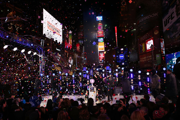 General Views of New Year's Eve at Times Square