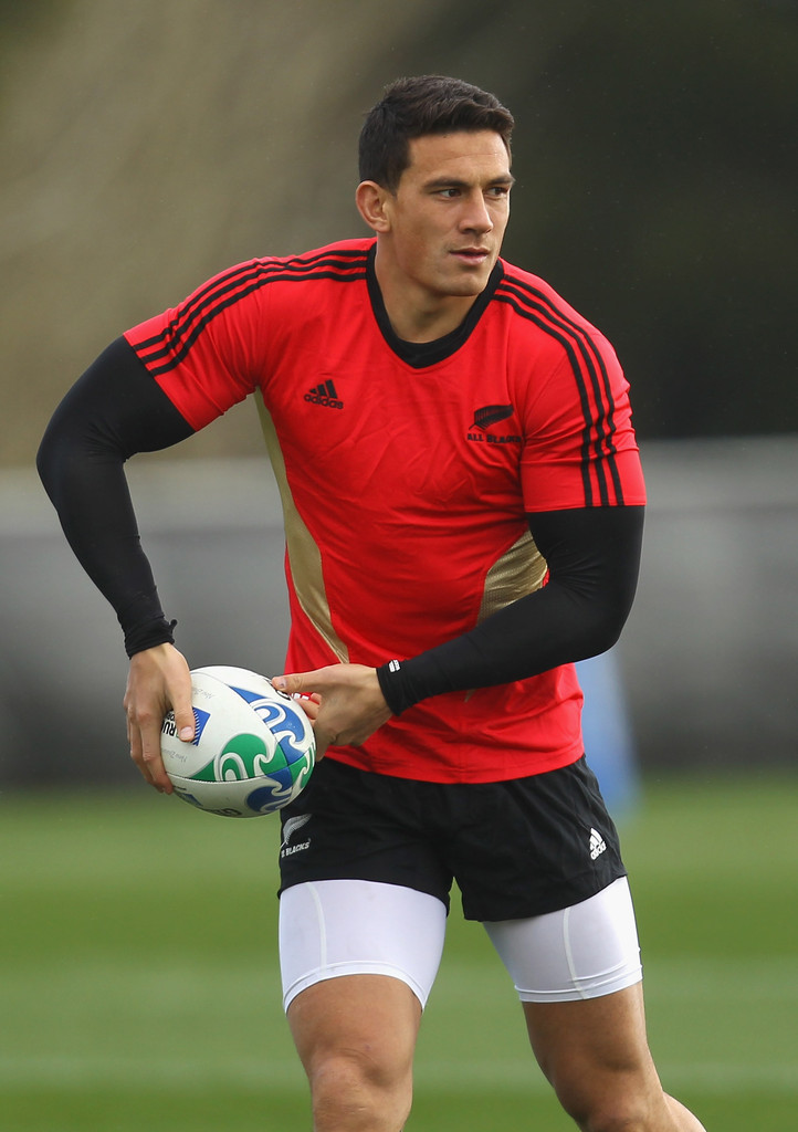 Sonny Bill Williams - New Zealand IRB RWC 2011 Training Session