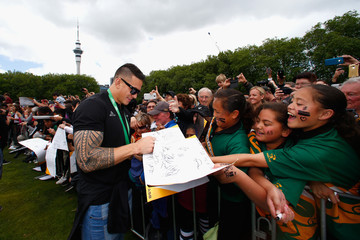 Sonny Bill Williams New Zealand All Blacks Welcome Home Celebrations