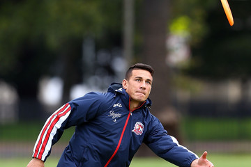 Sonny Bill Williams Sydney Roosters Training Session