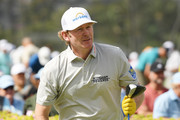 Brandt Snedeker of the United States plays his shot from the tenth tee during the pro-am prior to the Sony Open in Hawaii at the Waialae Country Club on January 08, 2020 in Honolulu, Hawaii.