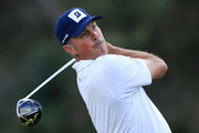 Matt Kuchar of the United States plays a shot during the pro-am prior to the Sony Open in Hawaii at the Waialae Country Club on January 08, 2020 in Honolulu, Hawaii.