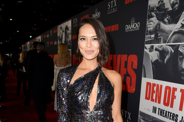 Sonya Balmores Premiere of STX Films' 'Den of Thieves' - Red Carpet