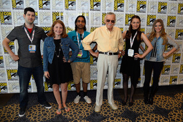 Sonya Belousova 'World of Heroes' Panel at Comic-Con