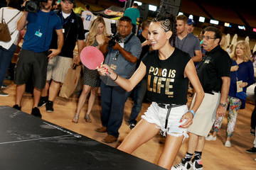 Soo Yeon Lee Clayton Kershaw's 5th Annual Ping Pong 4 Purpose Celebrity Tournament
