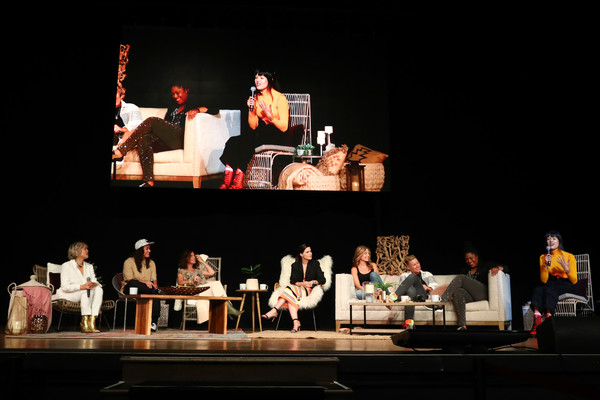 Together Live - Los Angeles [heater,performing arts,event,performance,stage,musical theatre,theatre,performance art,drama,musical,l-r,los angeles,sabrina jalees,milck,abby wambach,glennon doyle,jennifer rudolph walsh,sophia bush,austin channing brown,patti harrison]