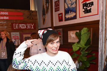 Sophia Lillis Pizza Hut x Legion M Lounge Park City, Utah