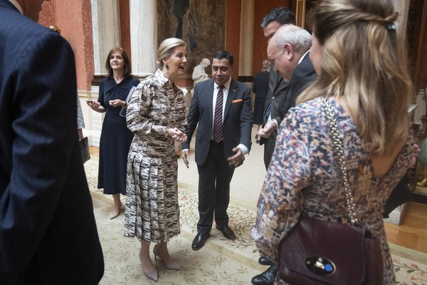 The Countess Of Wessex Hosts Reception For Women Peacebuilders On International Women's Day 2019