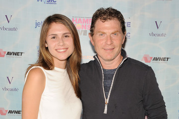 Photo of Bobby Flay & his  Daughter  Sophie Flay
