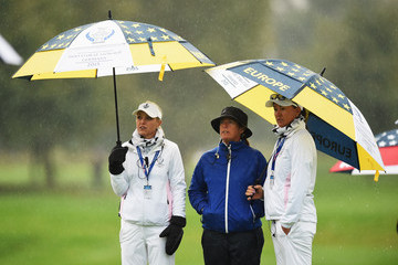 Sophie Gustafson The Solheim Cup - Day One