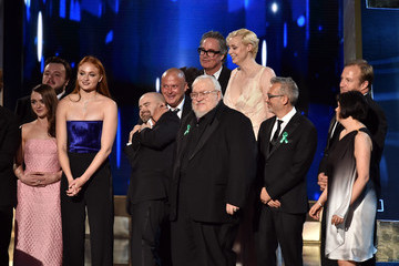 Sophie Turner Maisie Williams 67th Annual Primetime Emmy Awards - Show