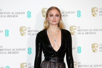Sophie Turner EE British Academy Film Awards - Winners Room