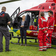 Sophie The Countess Of Wessex Visits Thames Valley Air Ambulance