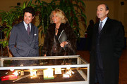 (L-R) Matteo Marzotto, Maria Franca Norsa, Michele Norsa attend the Sotheby's charity auction for FFC Onlus on January 23, 2013 in Milan, Italy.