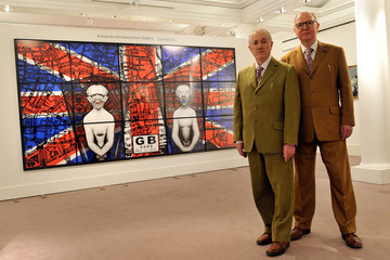 Gilbert George Passmore Sotheby's Offer Artworks By Gilbert And George For Auction As Part Of Their Contemporary Art Day Sale