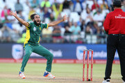 Imran Tahir of the Proteas during the 4th ODI between South Africa and Sri Lanka at PPC Newlands on February 07, 2017 in Cape Town, South Africa.