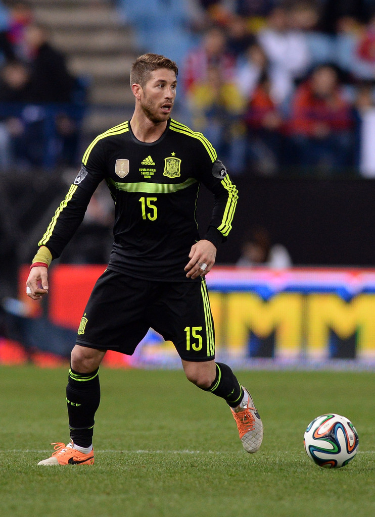 Sergio ramos photos photos spain v italy zimbio - Sergio madrid ...