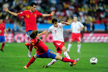 Carles Puyo Spain v Switzerland: Group H - 2010 FIFA World Cup