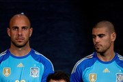 Iker Casillas and Victor Valdes Photos Photo