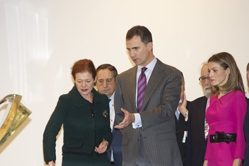 Elena Ochoa Spanish Royals Attend the Inauguration of ARCO Fair 2012