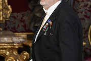 Placido Domingo attends the Royal Gala Dinner in honour of Chinese president Xi Jinping  and wife Peng Liyuan at the Royal Palace on November 28, 2018 in Madrid, Spain.
