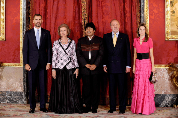 ¿Cuánto mide Evo Morales? - Altura - Real height Spanish+Royals+Host+Gala+Dinner+Honouring+bCb3OClDZZel