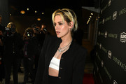 """Kristen Stewart attends a special fan screening of 20th Century Fox's """"Underwater"""" at Alamo Drafthouse Cinema on January 07, 2020 in Los Angeles, California."""