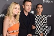 """(From left) Actors Dakota Fanning, Ewan McGregor and Jennifer Connelly attend a special screening of Lionsgate's """"American Pastoral,"""" October 13, 2016 at the Samuel Goldwyn Theater in Beverly Hills, California. / AFP / Robyn Beck"""