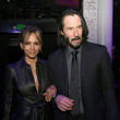 Halle Berry and Keanu Reeves Photos