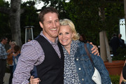 Actors Sam Jaeger and Monica Potter attend a special screening of NBC's 'Parenthood' benefitting Five Acres on September 26, 2013 in San Marino, California.