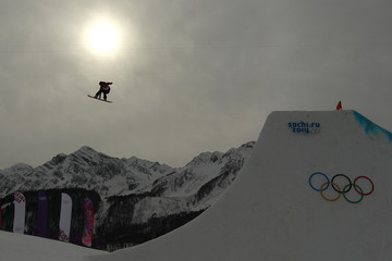 Spencer O'Brien Snowboard - Winter Olympics Day 2