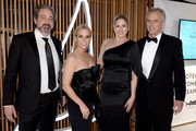 (L-R) Marc Yaggi, Cheryl Hines, Kate Minner and Bobby Kennedy attend the 2018 ACE Awards, announcing the Waterkeeper Alliance Partnership sponsored by Sperry at Cipriani 42nd Street on June 11, 2018 in New York City.