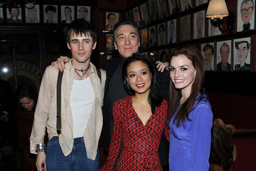 """Patrick Page Reeve Carney """"Spider-Man Turn Off The Dark"""" Special Broadway Preview Performance Benefitting The Actors Fund"""