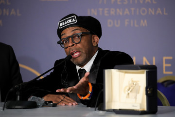 Spike Lee Palme D'Or Winner Press Conference - The 71st Annual Cannes Film Festival
