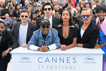 Spike Lee Topher Grace Instant View - The 71st Annual Cannes Film Festival