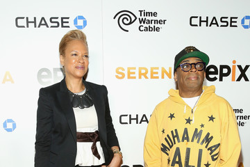 Spike Lee Serena Williams NY Premiere Event