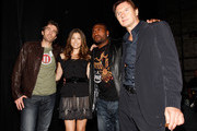 "Actors Sharlto Copley, Jessica Biel, Quinton Jackson and Liam Neeson attend Spike TV's 4th Annual ""Guys Choice Awards"" held at Sony Studios on June 5, 2010 in Los Angeles, California."
