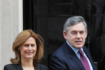 Prime Minister Gordon Brown Sport Relief Visit Number 10: Photocall