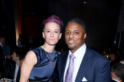Megan Rapinoe and Warrick Dunn attend the Sports Illustrated Sportsperson Of The Year 2019 at The Ziegfeld Ballroom on December 09, 2019 in New York City.